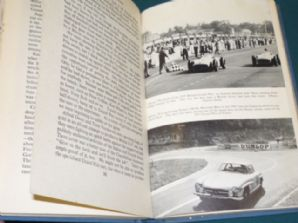 STIRLING MOSS . IN THE TRACK OF SPEED. 1957 Autobiog. (copy jacket)